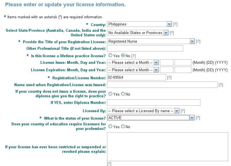 Cgfns Ces Application Steps For Nclex With Images